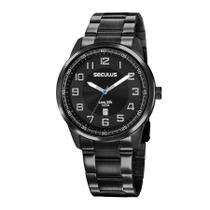Relógio Seculus Masculino Ref: 20785gpsvpa3 Casual Black -