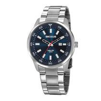 Relógio Seculus Masculino Ref: 20786g0svna1 Casual Prateado -