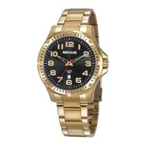 Relógio Seculus Masculino Ref: 20787gpsvda3 Esportivo Dourado -