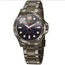 Relógio Seculus Masculino Ref: 20800gpsvsa3 Esportivo Grafite -