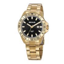 Relógio Seculus Masculino Ref: 20801gpsvda2 Casual Dourado -