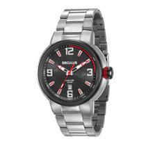 Relógio Seculus Masculino Ref: 23598gpsvca1 Esportivo Prateado -