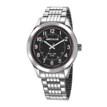 Relógio Seculus Masculino Ref: 23644g0svna1 Esportivo Prateado -