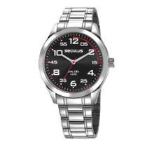 Relógio Seculus Masculino Ref: 23655g0svna1 Esportivo Prateado -