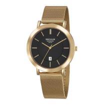 Relógio Seculus Masculino Ref: 23659gpsvda1 Mesh Dourado -
