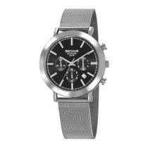 Relógio Seculus Masculino Ref: 23660g0svna1 Cronógrafo Prateado -