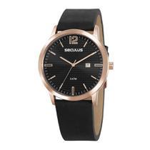 Relógio Seculus Masculino Ref: 23678gpsvrc2 Social Rosé -