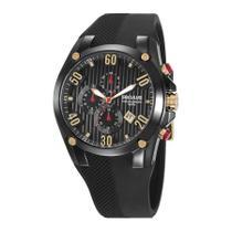 Relógio Seculus Masculino Ref: 28207gpsvpu3 Cronógrafo Black -
