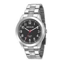Relógio Seculus Masculino Ref: 28937g0svna3 Casual Prateado -
