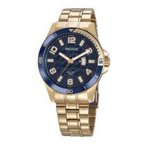 Relógio Seculus Masculino Ref: 28990gpsvda2 Esportivo Dourado -