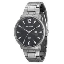 Relógio Seculus Masculino Titanium 20531G0SVNT1 -