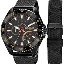 Relógio Seculus Masculino Troca Pulseiras 20793GPSVPA2 -