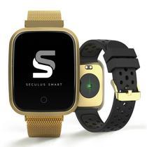 Relógio Seculus Smartwatch Feminino 79006MPSVDE4 Dourado -