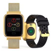 Relógio Seculus Smartwatch Troca Pulseira 79006MPSVD -
