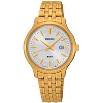 Relógio Seiko Feminino Dourado Sur792b1 S1kx -