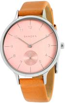 Relógio Skagen Couro - SKW2406/0TI -