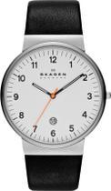 Relógio Skagen Couro - SKW6024/1BN -