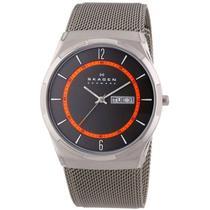 Relógio Skagen Titanium Slim Analógico SKW6007/1PN -