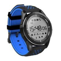 Relógio Smart Watch Bluetooth F3 Prova Dágua Azul - Shopping vila sônia