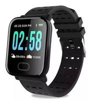 Relógio smart watch bluetooth mtr-23 - tomate