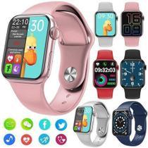 Relógio Smart watch Hw12 Branco 40mm + Pulseira Extra -