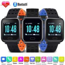 Relógio Smart Watch Inteligente Sports A6 Monitor Esportes Fitness Android/Ios Azul - Lx