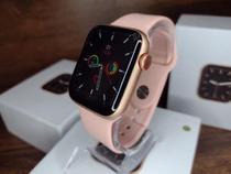 Relogio Smart watch Inteligente W26 Pro + Pulseira Metal +Pelicula - Rosa 44mm - Lançamento 2021 - iwo