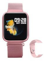 Relógio Smart Watch Oled P70 C/ Duas Pulseiras-rose - P70 Rose