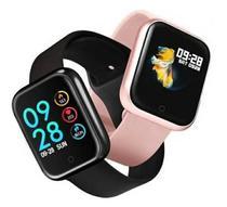 Relógio Smart Watch Oled Pro/ P70 C/ Duas Pulseiras-rose -