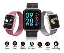 Relógio Smart Watch P70 Com Duas Pulseiras -
