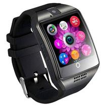 Relógio Smart Watch Q18 Curvo Chip Celular Android - Bcs