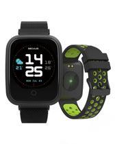 Relógio Smartwach Seculus Preto + Pulseira - Multicor - Pret -
