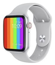 Relógio Smartwatch 12 lite Pro W26 Tela Infinita Cor prata - Iwo