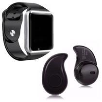 Relógio Smartwatch A1 Inteligente Gear Chip Celular Touch Mini fone de Ouvido Bluetooth S530, Prata - Smart Bracelet