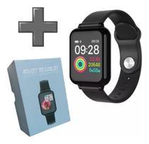 Relógio Smartwatch B57 Hero Band III Mult Funções-Esportes-Pressão Art Km Kcal FC Monitor do Sono -