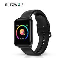 Relógio Smartwatch Blitzwolf BW HL1 Touch IPS IP68 Esportivo Mede Pressão Bluetooth -