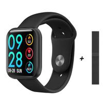 Relógio Smartwatch Bluetooth Inteligente P80 Band Fitness academia Android iphone Preto