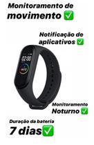 Relógio Smartwatch Bracelete Inteligente M4 - Inova