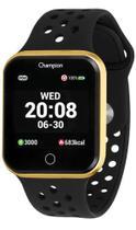 Relógio Smartwatch Champion Bluethooth 4.0 Preto c/ Dourado CH50006U -