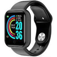 Relógio Smartwatch D-20 Pulseira Inteligente Monitor Cardíaco Pressão Arterial cor: Preto - abc