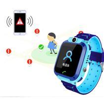 Relógio Smartwatch Digital Infantil Led GPS Presente Dias Das Crianças Azul - Global