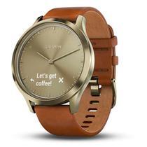 Relógio Smartwatch Garmin vívomove HR 010-01850-05 com Bluetooth - Marrom Claro -