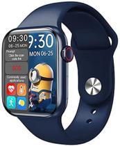 Relógio SmartWatch HW16, Tela de 1,72 Notificações e Sensores Independentes. Cor azul -