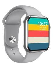 Relógio Smartwatch Hw16 Tela Infinita 44mm Serie 6  Troca Foto e Pulseira - Cinza - Iwo