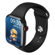Relógio Smartwatch Hw16 Tela Infinita 44mm Serie 6  Troca Foto e Pulseira - Preto - Iwo