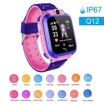 Relógio Smartwatch Infantil Q12 kids com rastreador - chat voz - sos - Q Smart -