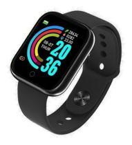 Relógio Smartwatch Inteligente Bluetooth Android iPhone D13 - Health Bracelet