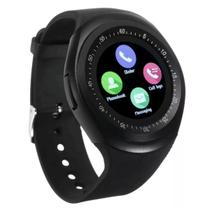 Relógio Smartwatch Inteligente Bluetooth Touch Android Chip - Tomate
