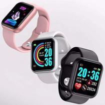 Relógio Smartwatch Inteligente D20 44mm + Película de Brinde - Sky Dreams Eletronics