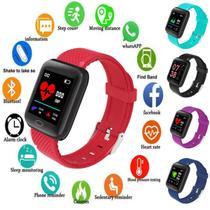 Relógio Smartwatch Inteligente Fitness android e ios - Ybf